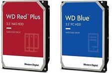 """4TB 8TB 10TB 12TB WD RED PLUS NAS 3.5"""" HDD Internal Hard Drive 1TB 2TB BLUE PC"""