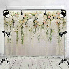Flower Rose Floral Wall Wedding Backdrop Romantic Photography Background Decor