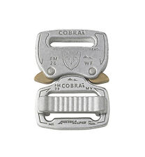 """AustriAlpin Fashion Modello 20mm/0.75"""" CROMO Cobra Fibbia-fm20avf"""