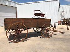 #221 Horse Drawn Wagon Display Wagon Antique Wagon