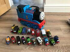 Thomas The Tank Engine Take N Play Bundle 3 D Carry Case 19 Trains CHRISTMAS #7
