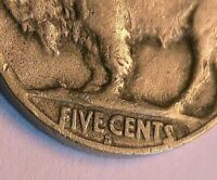 1925-S/S RPM Buffalo Nickel Ch (VG+) Very Good Original Indian Head 5 Cent Coin