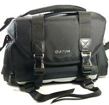 Genuine Canon 200-Dg Dslr Black Silver Camera Bag Case with Shoulder Strap Oem