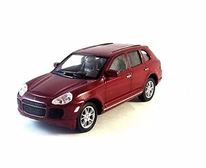 PORSCHE CAYENNE TURBO BORDEAUX WELLY 1/32 DIECAST CAR COLLECTOR'S MODEL , NEW