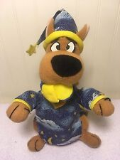 "Plush Scooby Doo In Pajamas 9"" Dog Cartoon Network Stuffed Toy"