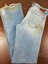 Buckle Big Star Womens Jeans Sz 27R Distressed Boot Cut Stretch Fit Made in USA