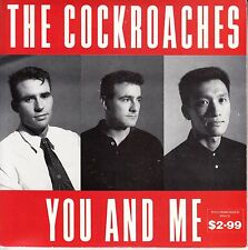 """THE COCKROACHES You And Me PICTURE SLEEVE & 2 x records 7"""" 45 rpm vinyl NEW"""