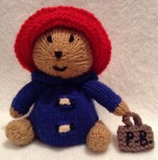 KNITTING PATTERN - Paddington Bear inspired choc orange cover / 15 cms toy