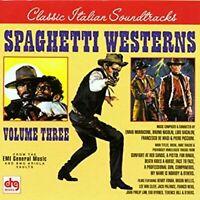 Spaghetti Westerns, Volume Three Film Score Compilation , Music CD