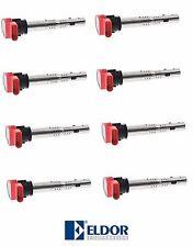 AUDI A6 A8 Quattro Q7 R8 S5 Set of 8 Ignition Coils Eldor OEM 06E 905 115 E