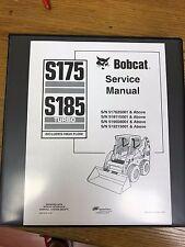 Bobcat S175 S185   Skid Steer Loader Service Manual
