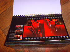 Official Ferrari desktop calendar 2001