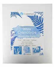 "11"" x 14"" Cyanotype Watercolor Paper (12 pack)"