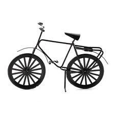 Dolls House 3805 Bicicletta nero Metallo 1:12 per casa delle bambole nuovo! #