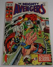 AVENGERS #66 ULTRON  BARRY SMITH CLASSIC VF 8.0