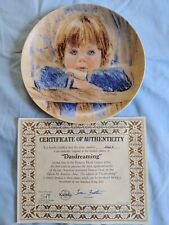 Edwin M. Knowles China Daydreaming Collector's Plate
