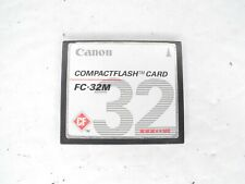 #2 Canon 32MB FC-32M MEGABYTE CF Compact Flash Camera Memory Card (Dent On Back)