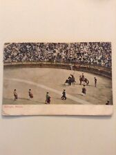 Postcard Bullfight Mexico 1907