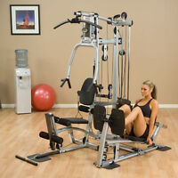 Powerline P2LPX Home Gym with Leg Press - Weight Exercise Cable Strength Machine