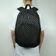 Vans Van Doren Original Backpack/Rucksack – Black/Checkerboard