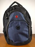 Swiss Gear Alps Black Blue Backpack Bag Travel Laptop Notebook Carrying Air Flow