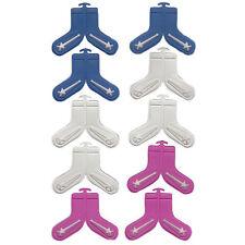 10 Stück Sockensortierer Sockenklammern Sockenclip Sockenhalter Wächeklammern