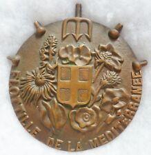 Tape de Bouche Marine FLOTTILLE DE LA MEDITERRANEE FLOMED ORIGINAL Bronze