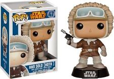 "Star Wars Han Solo Hoth 3.75 ""Vinilo Bobble Head Figura Pop Funko Exclusivo"