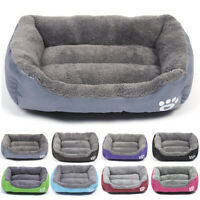 Pet Dog Cat Bed Puppy Cushion House Soft Winter Warm Kennel Mat Blanket Washable