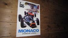 Monaco Grand Prix F1 1967 Repro POSTER