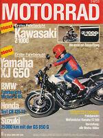 7353M Motorrad 1980 6/80 GS 850 E Jaxson Michel BM R 65 XJ 650 DR 400 S Italjet