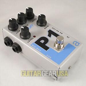 AMT Electronics Guitar Preamp P-1 Pedal (Legend Series) emulates Peavey 5150