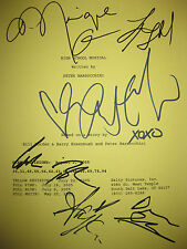 High School Musical Signed Movie Script Vanessa Hudgens Ashley Tisdale reprint