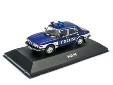 Saab 99 Finland 1974 - 1/43 Voiture Police miniature Diecast Z014