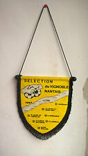 Vintage Fanion Selection du Vignoble Nantais 1987 Football Foot 25 cm x 20 cm