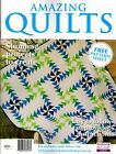 AMAZING QUILTS MAGAZINE. 2015. PATTERN SHEET ATTACHED
