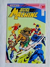 Justice League No. 6 June 1987 Comico The Comic Company First Printing NM (9.4)