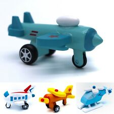 Wooden Shape Planes and Helicopters Learning Shape Color of Vehicle Set #3