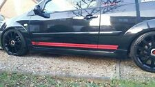 FORD FIESTA ST SIDE STRIPES BOTH SIDES ,ST TDCI ZETEC STICKERS-LOOKS AWESOME