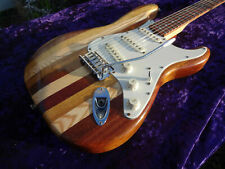 Unique custom hand made electric guitar right handed stratocaster vintage retro
