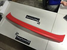 BMW E46 97-06 CSL style 4d saloon boot trunk spoiler ducktail lip add on sedan