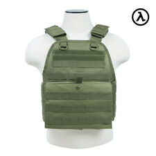 NCSTAR PLATE CARRIER VEST TACTICAL GEAR / GREEN CVPCV2924G - [MED-2XL]