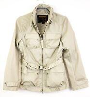 VZ382 Woolrich Femme Manteau avec Ceinture Veste TAILLE L