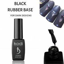 Kodi Black Base Gel Rubber Base Coat Gel Polish for Dark Manicure 8 ml