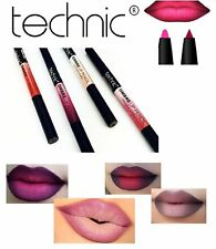 Technic OMBRE Lip Pencil Matte Lipstick Dark and Light Duo Shades Xmas Crayons
