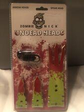 Rough Rider Rr1484 Zombie Nick Undead Arrowhead. Gig/spear head & 2 arrowheads