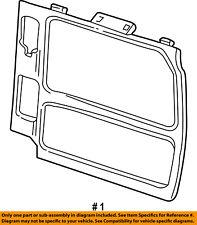 FORD OEM 03-05 E-350 Club Wagon Side Sliding Door-Door Trim Panel F6UZ1627411BAB