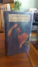 George Steiner, Lessons of the Masters (Charles Eliot Norton Lectures) - 1st Ed