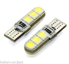 1x LED LAMPE 6x5050 SMD XENON WEISS CANBUS T10 W2.1x9.5d 12V 1 STÜCK
