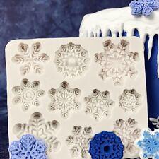 Diy silikon backen kuchenform weihnachten weihnachten schneeflocke kuchenform